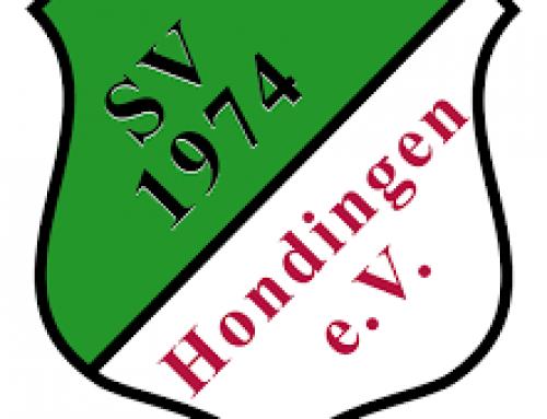Spieltag unserer F1 Junioren in Hondingen