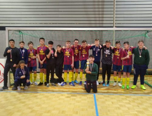 Toller 2. Platz unserer C-Junioren in Bad-Dürrheim
