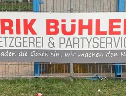 Willkommen beim SVI – Erik Bühler neuer Sponsor