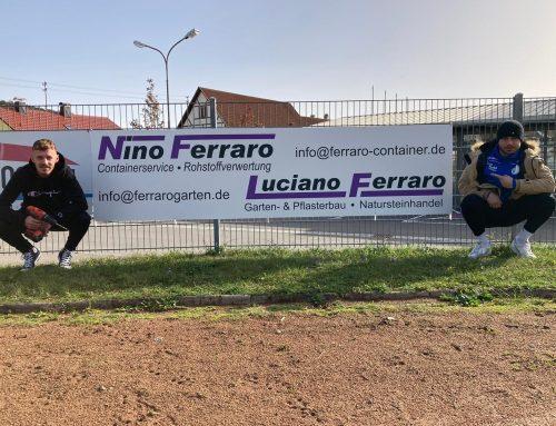 Willkommen beim SVI – Fam. Ferraro neuer Sponsor