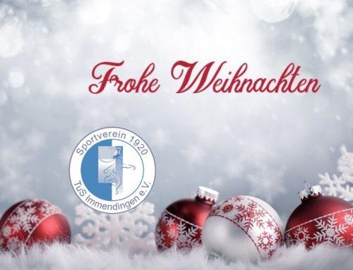 Frohe Weihnachten wünscht euch der SV Immendingen